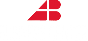 Logo di A&B Business Center in Bianco
